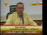 Vicepresidente Carrizales denuncio posibilidad de agresion e