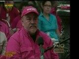 Durante su Aló Presidente del domingo, el Pdte. Chavez expro