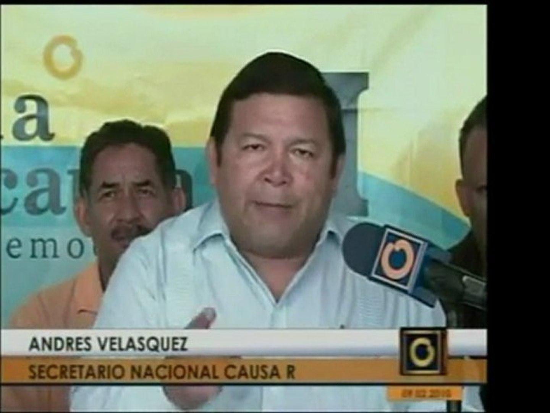 Andrés Velazquez, de la Causa R, no cree que el decreto de e