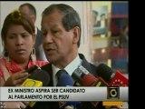 El ex Ministro Luis Acuña devela sus intenciones de unirse a
