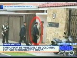 @globovision embajador venezolano en colombia visito bogota