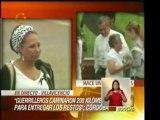 Declaraciones de la Senadora Piedad Córdoba despúes de entre