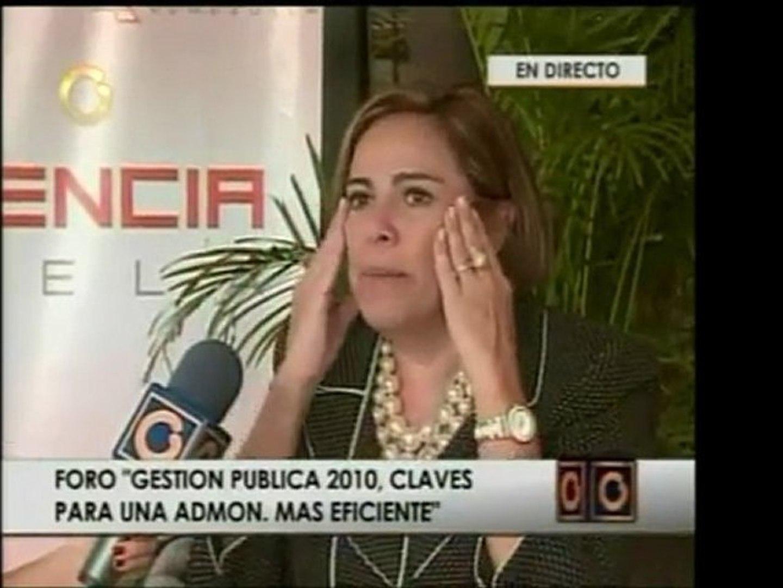 Dir. de Transparencia Venezuela, Mercedes de Freitas, declar