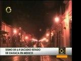 Un sismo de 6,4 grados se dio en Oaxaca, México y se sintió