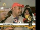 Trabajadores del Metro de Caracas aclaran que no es su respo
