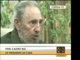 Extractos de la entrevista realizada a Fidel Castro por peri