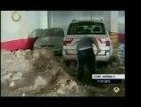 En España las fuertes lluvias se convirtieron en granizo, cr