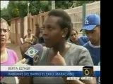 Protestas en el Barrio Éxito, al este de Maracaibo- Zulia, p
