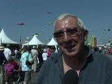 Cerfs-volants: affluence et soleil aux rencontres de Berck-sur-Mer