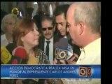La familia del expresidente Carlos Andrés Pérez confirmó que