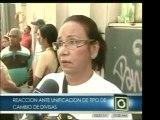 Ciudadanos venezolanos opinan sobre cómo les afecta el cambi