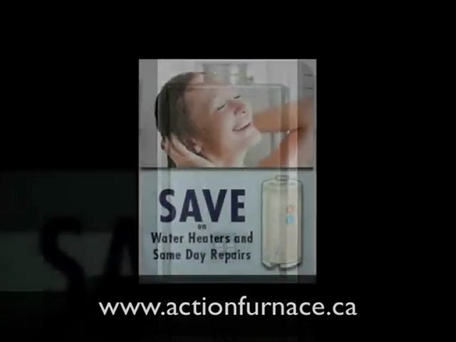 Calgary Hot Water Heaters and Repairs | Action Furnace and Hot Water Tanks