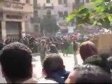 Protestas en Egipto cerca de la plaza Tahrir pidiendo la sal