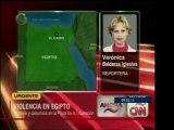 La Plaza de la Liberación de Egipto vive enfrentamientos ent