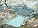 東日本大震災 津波被礙の映像