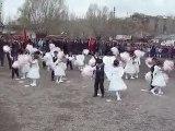 hafik cumhuriyet ilköğretim okulu 23 nisan melek gösterisi