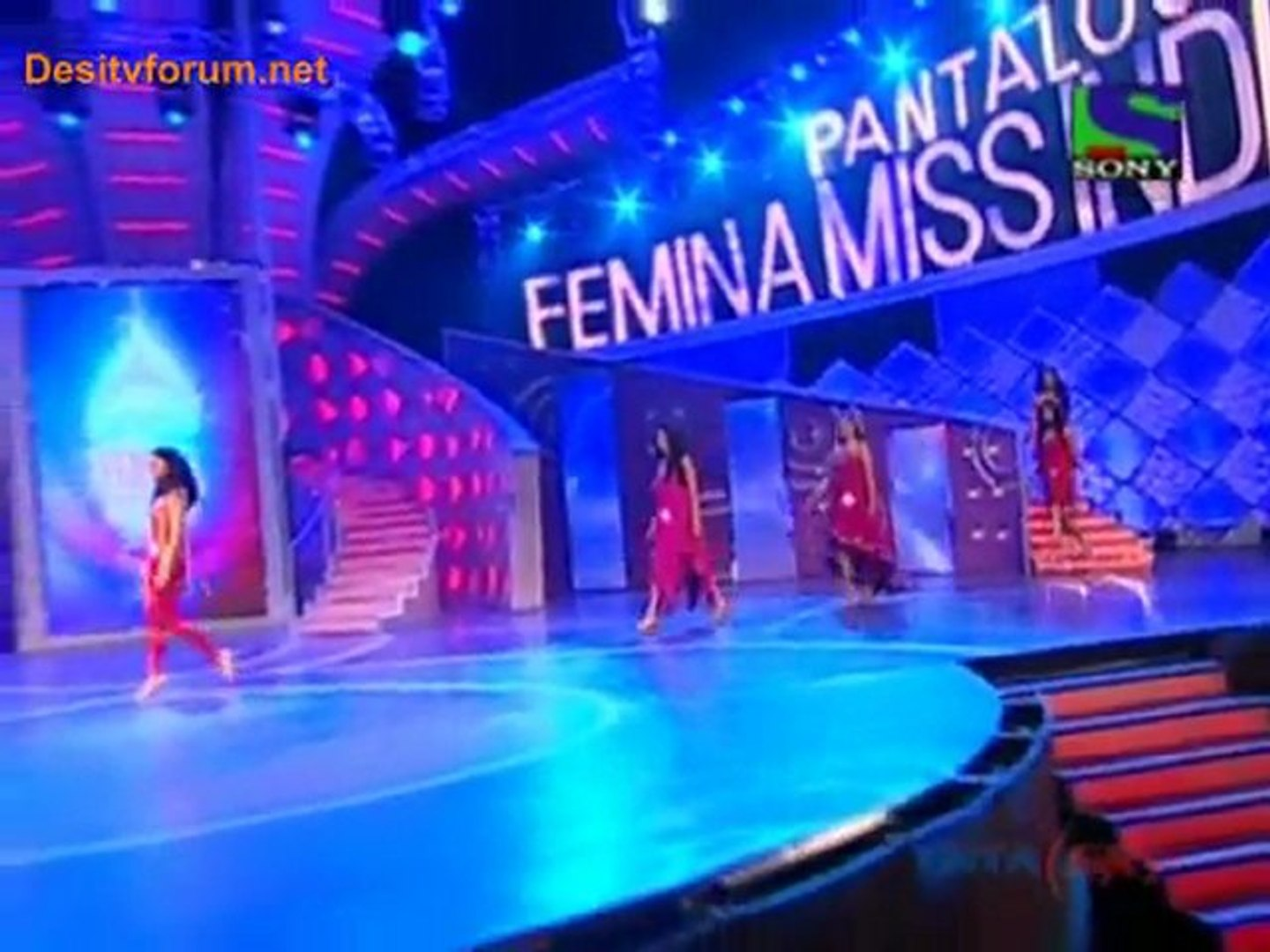 Pantaloons Femina Miss India 2011 - 24th April 2011 Watch Online - Part1