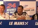 24 Heures du Mans : press conference test day