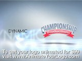 AnimateYourLogo and VideoHive - An Animated Logo for Championship Productions - Get your logo animated for $99!