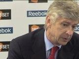 Wenger dismisses title hopes