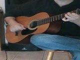 Vidéo cours de guitare L'horloge tourne Mickaël Miro