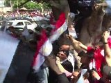 Egypte: des partisans de Moubarak manifestent au Caire