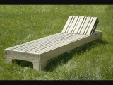 fabriquer une chaise longue en palette