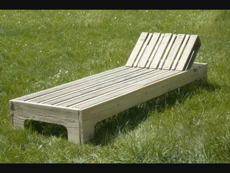 Faire Un Banc En Palette fabriquer une chaise longue en palette