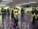 Stages de danse orientale avec la Compagnie AZIZA - Danseuse orientale