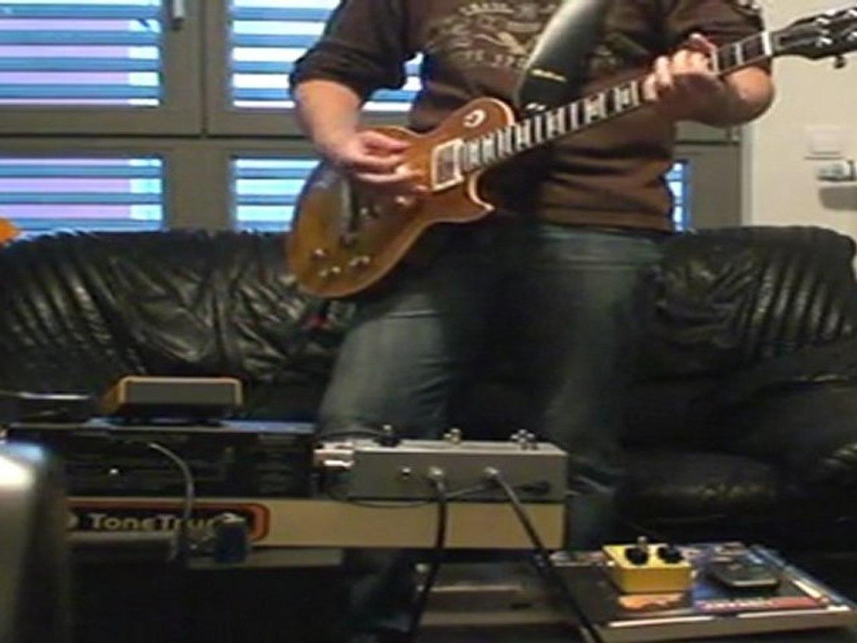 Gibson Melvyn Franks + Two-Rock OD. Sig. + T-Rex Mudhoney II + T-Rex Twister + T-Rex Replica