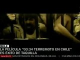 Éxito de taquilla película sobre terremoto en Chile