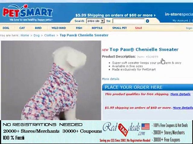 Pet Smart Discount Coupons – Redtagdeals