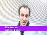 "Elie SEMOUN interview ""DUCOBU"""