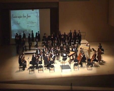 Pasion segun San Juan de J. S. Bach - Dir: Miguel Ángel Martínez Montés 1/12