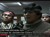 Chile¨Piden anular condenas contra mapuches