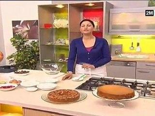 Choumicha Gâteau - cake au chocolat cake au fraise