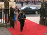 Beatrice and Eugenie arrive