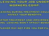 Eric Seidel One Minute Tips-Quitting While Getting Workers Comp