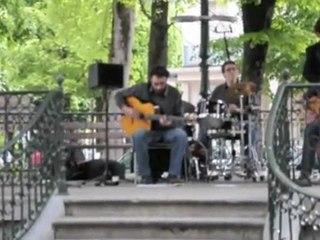 Luchon: Jazz manouche au Kiosque à musique