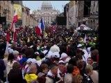 Un millón de personas visita Roma para la beatificación de Juan Pablo II