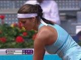 Madrid - Wozniacki ko con Goerges
