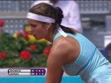 Madrid - Goerges elimina a Wozniacki