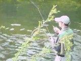 1989 - Pêche de la truite à la mouche Seb en sèche Meurthe et Moselle www.clergetblog.com