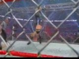 John Cena vs Morrison vs Miz Steel Cage match Extreme Rules 2011