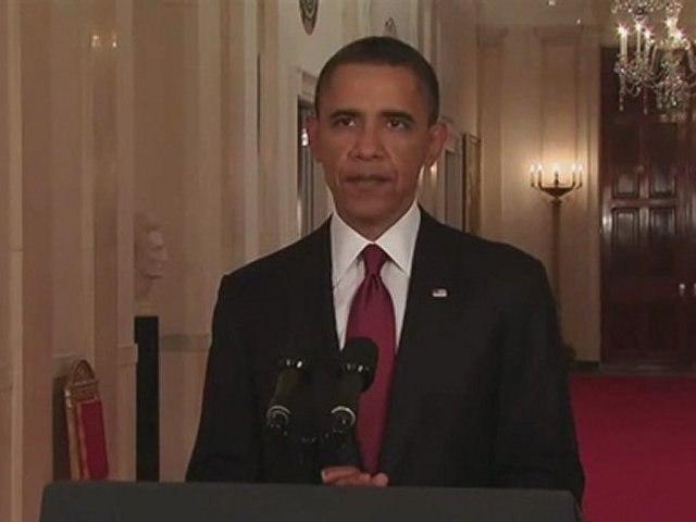 Obama : Osama Bin Laden Dead / Silences