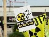 Greenpeace bloque le chantier de l'EPR à Flamanville