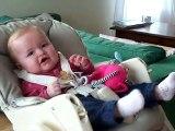 Louise, 6 mois (vocalises)