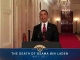 President Barack Obama on Death of Osama bin Laden