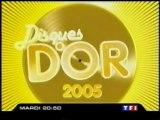 Bande Annonce De L'emission Disques D'or 2005 Décembre 2005 TF1