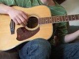 yann tiersen comptine d'un autre été l'après midi cover guitare
